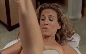Carrie bradshaw sex in the city vagina waxed